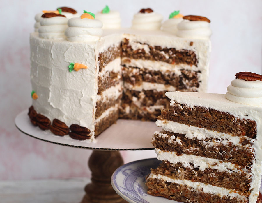 Valhalla Bakery carrot cake