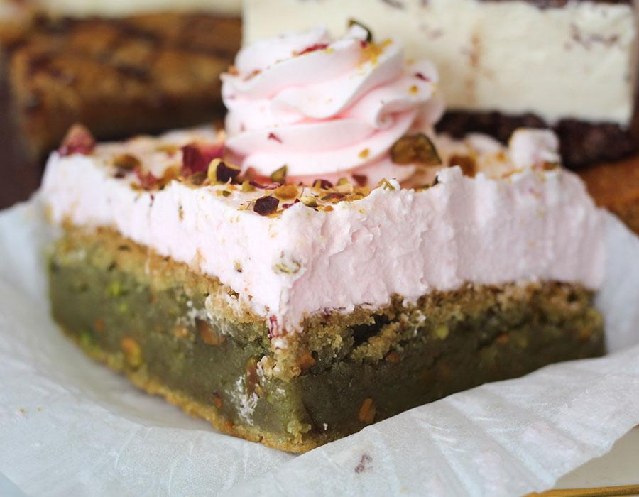 Valhalla Bakery dessert squares