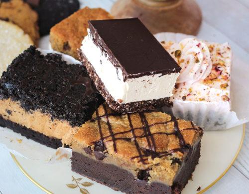 Valhalla Bakery dessert tray