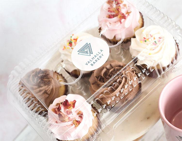 Valhalla Bakery cupcakes